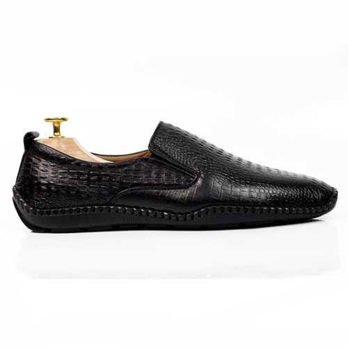 Giày Lười Dập Vân Cá Sấu TM21
