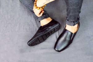 giày lười da nam tm21