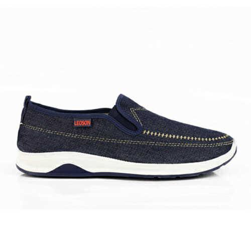 Giày Lười Nam Vải Jean TM12