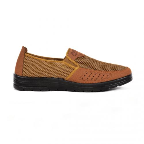 giày lười nam đục lỗ TN01