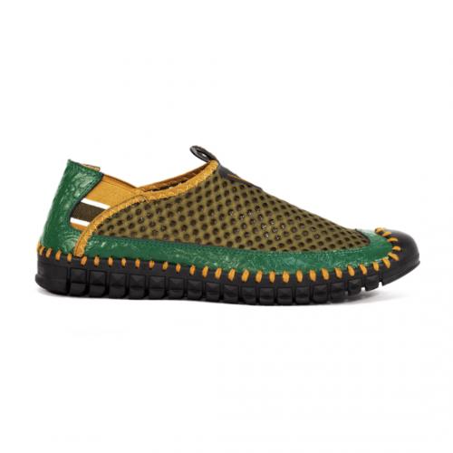 giày lười nam da bò chất NT08