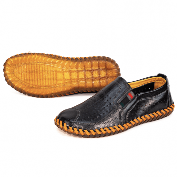 giày lười nam da bò chất TM43