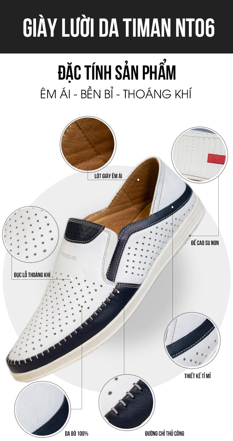 Giày Lười Nam NT06