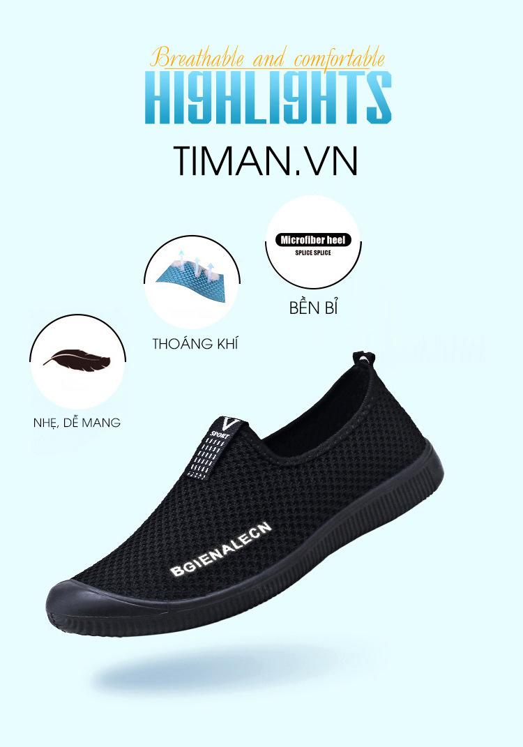 Giày Vải Nam Timan TM11