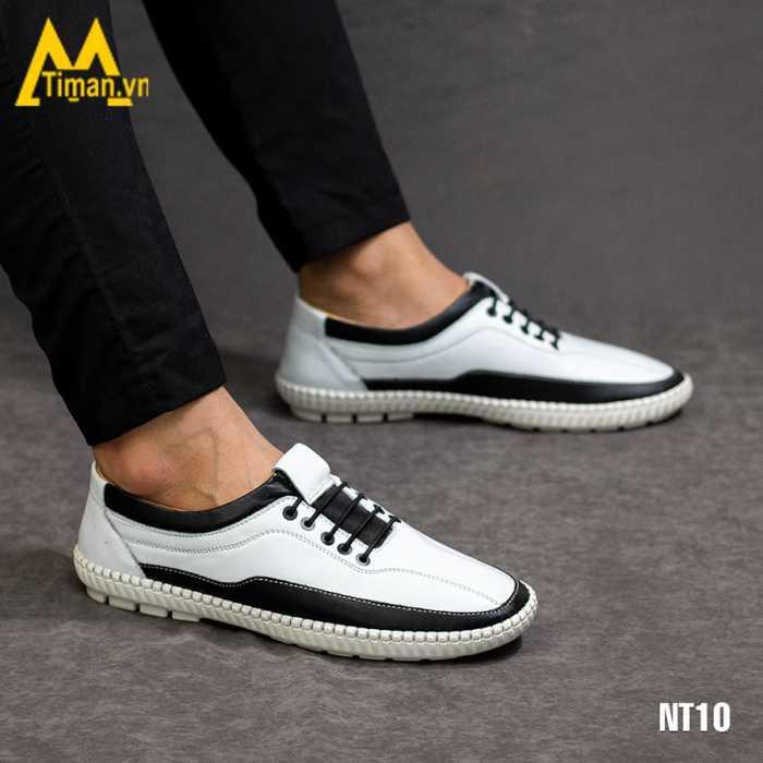 giày lười nam da bò nt10