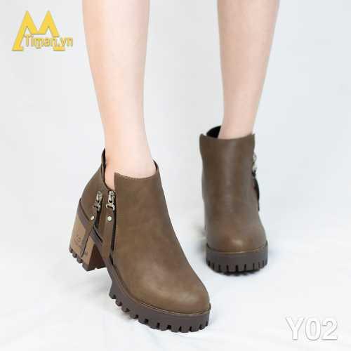 Giày Da Nữ Timan Y02