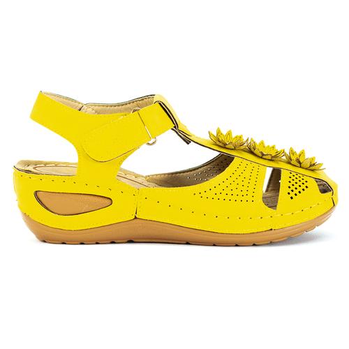 Sandals Nữ Đế Xuồng Timan DA06