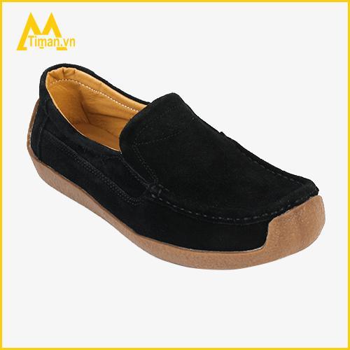 Giày lười da lộn Timan M02