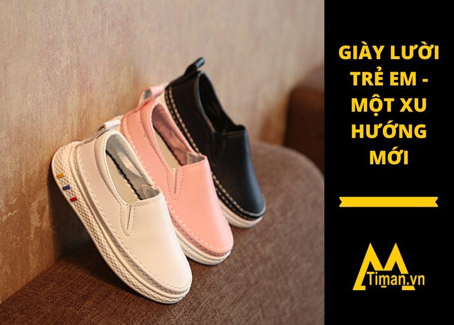 giày lười cho trẻ em