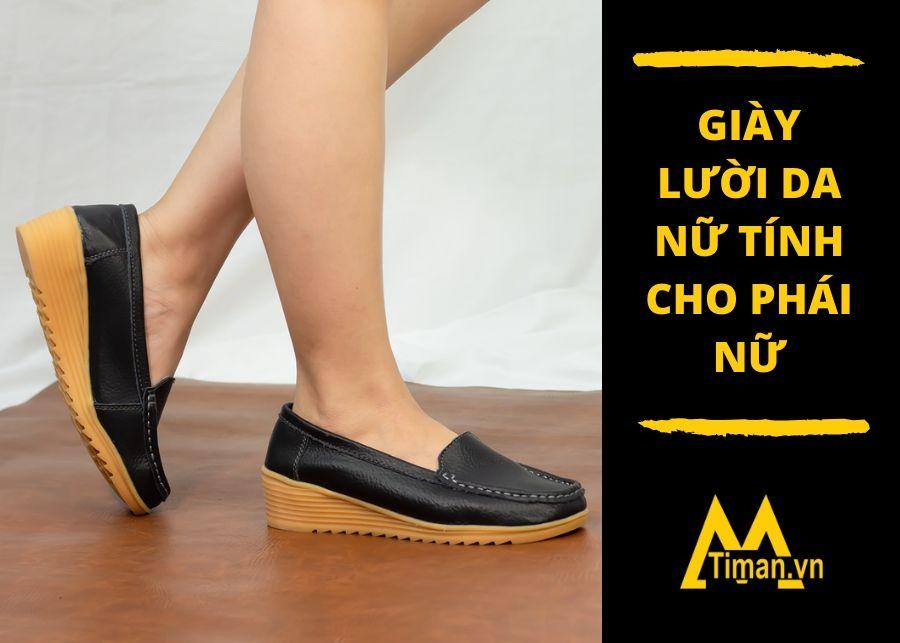 giày lười nữ giá tốt