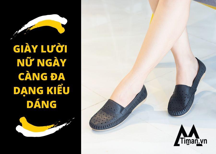 giày lười nữ chất lượng