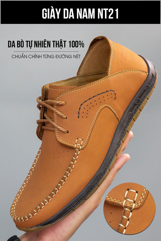Giày Lười Da Timan NT21