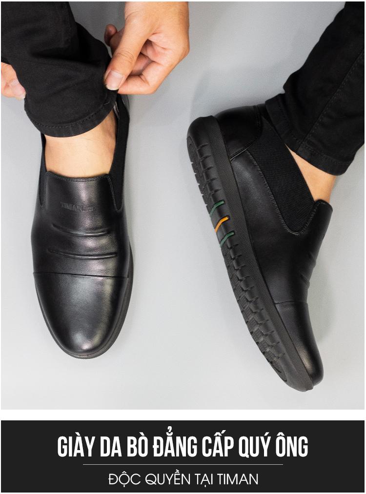 Giày Lười Da Nam Timan NT14