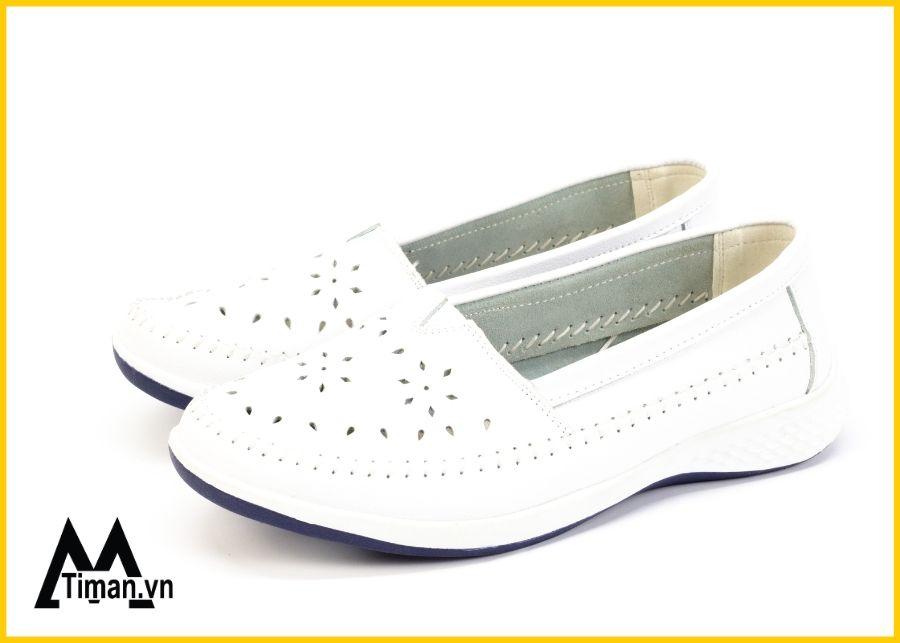 giày lười trắng uy tín