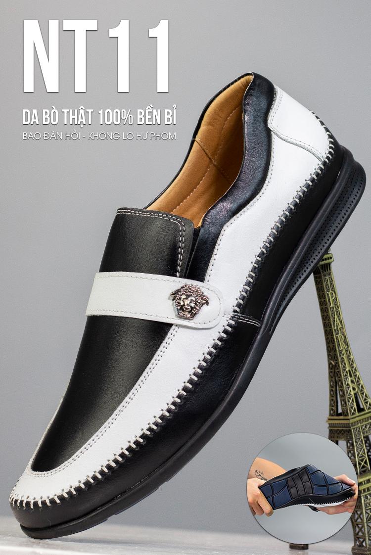Giày Lười Da Timan NT11