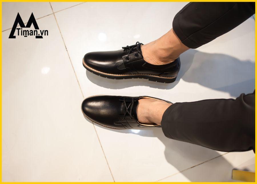 Giày da nam buộc dây giá tốt