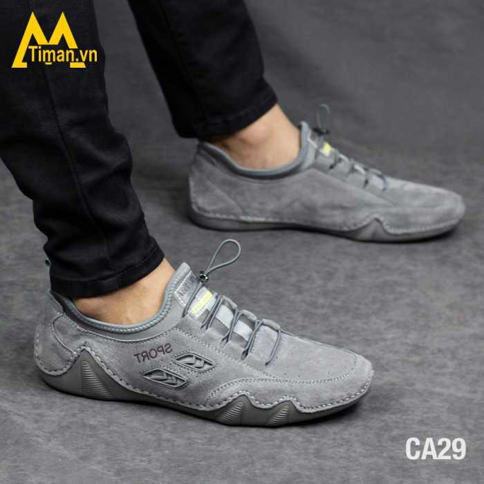 Giày Da Nam Timan CA29