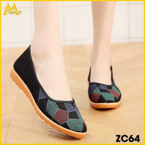 Giày Lười Nữ Timan ZC64