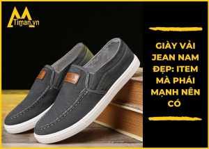 Giày vải nam chất lượng