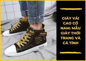 Giày vải nam uy tín